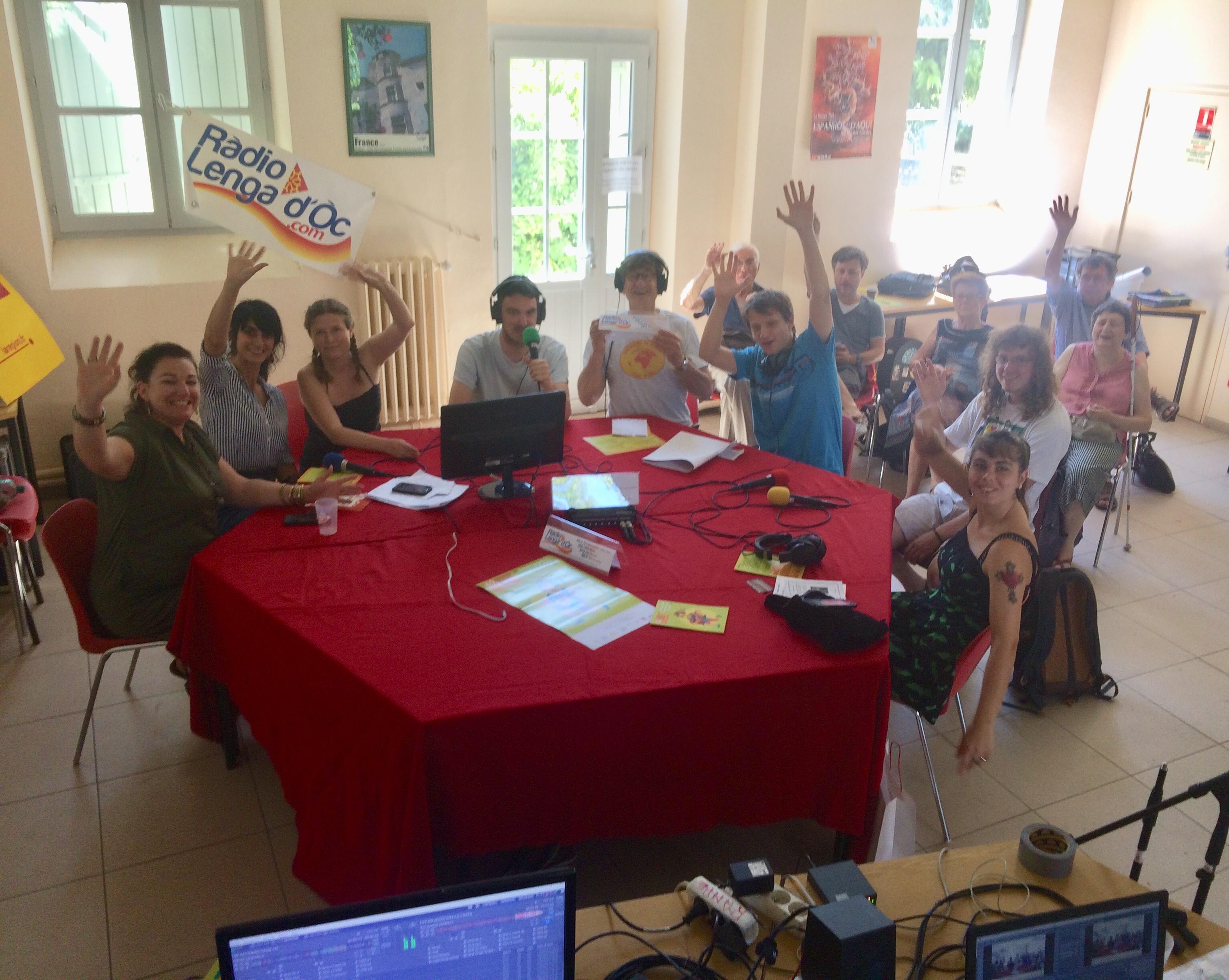 RLO en dirèct de l'Universitat Occitana d'Estiu de Nimes en julhet 2018