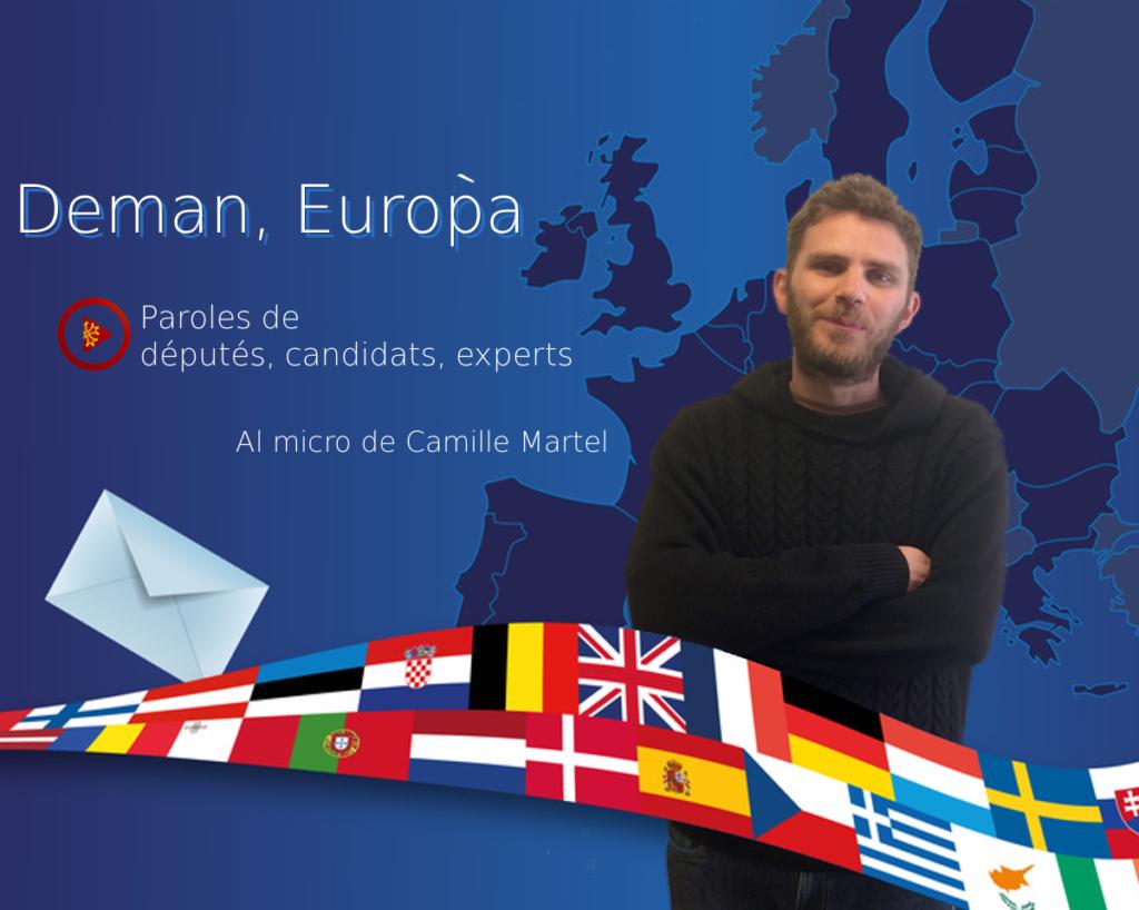 DEMAN, EURÒPA : Marie-Pierre Vieu